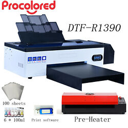 Procolored DTF Flatbed Printer T shirt Personal DIY for Home Business w Heater $2599.00