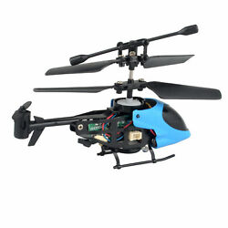 Mini Nano Remote Control RC Radio Helicopter Toys for Kids Micro Drone UAV $12.65