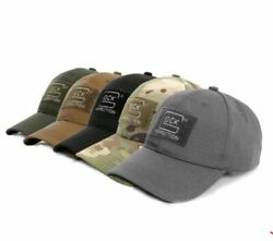 GLOCK HAT with American Flag PICK A COLOR Black Grey Tan FDE Camo Green $12.99