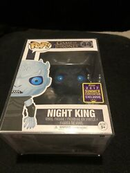 Authentic Game Of Thrones Funko Pop No. 44 Night King Translucent GBP 15.00