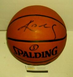 Kobe Bryant LA Lakers Autographed Spalding Official Basketball W COA $585.00