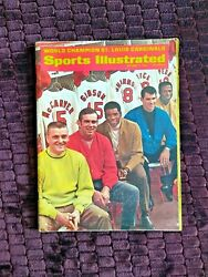 October 7 1968 Sports Illustrated World Champion St Louis Cardinals No Mailing $69.99