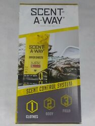 NEW Scent A Way Outdoor Control Laundry Kit FE Max Detergent Dryer Sheets $10.99