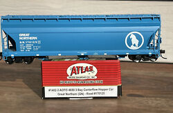 ✅ Atlas GREAT NORTHERN ACF 4650 Centerflow Hopper GN #170125 1402 3 HO NEW 🟦🆕 $28.00