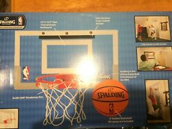 Spalding NBA Slam JamTrue To The Game Official Basketball and Backboard NEW. $30.00