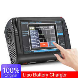 Duo RC Charger Discharger Dual Channel AC 150W DC 240W Touch Screen Balance Lipo $107.99