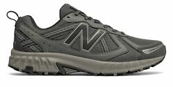New Balance Men#x27;s 410v5 Trail Shoes Grey with Black $38.99