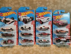 2020 Hot Wheels 11 12 Target RED EDITION Exclusives Very Hard to Find $44.00