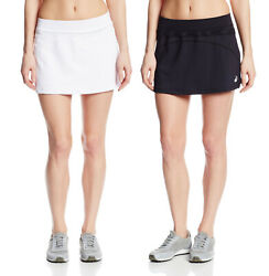 Asics Women#x27;s Racket Skort Tennis Skirt Shorts Color Options $19.50