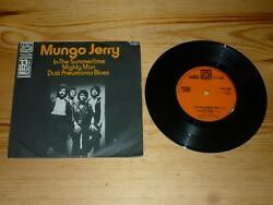 MUNGO JERRY IN THE SUMMERTIME MAXI 7quot; INCH SINGLE VINYL 33rpm RECORD EXCELLENT GBP 9.99