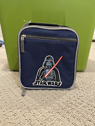 NEW Pottery Barn Kids Star Wars Darth Vader Classic Lunch Bag lunch Box $22.00