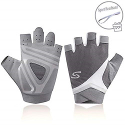nononfish Exercise Gloves for Women Fingerless for Weight Lifting Cycling Gym $14.91