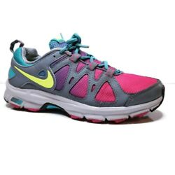 Nike Air Alvord 10 Womens Size 7.5 Gray Pink Blue Yellow Trail Running Shoes $22.36
