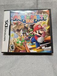 Mario Party For Nintendo DS Tested And Working W Original Case And Manual $17.00