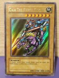 Gaia the fierce knight Ultra Rare LOB 006 $45.00