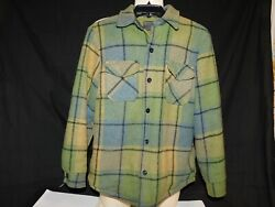 Vintage flannel lined jacket styled for students by Sears size 18 chest 34 $45.00