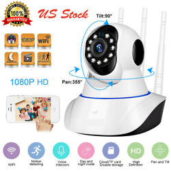HD 1080P Wireless Wifi Camera Monitor Panoramic Night Vision Security IP System $29.99