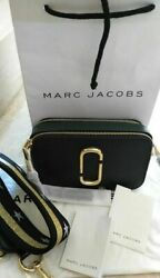 NWT Marc Jacobs Snapshot Small Camera Bag Crossbody black multi sales $26.85
