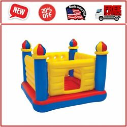 Inflatable Colorful Jump O Lene Kids Ball Pit Castle Bouncer for Ages 3 6 $50.99