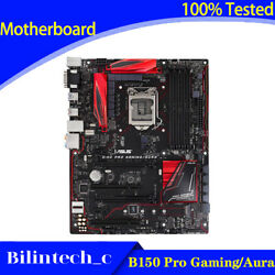 FOR ASUS B150 Pro Gaming Aura Motherboard Supports DDR4 64GB VGADVI 1151PIN $107.90