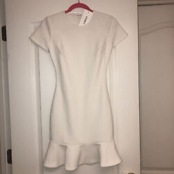 NWT White Cocktail Dress LIKELY size 0 $110.00