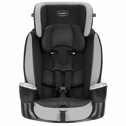 Evenflo Maestro Sport Harness Booster Car Seat in Gray with Dual Cup Holders New $104.21
