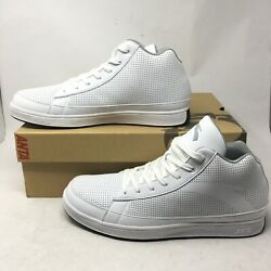 NEW Anta Mens 15 Mid Top Perforated Training Sneakers White Kevin Garnett $143.55