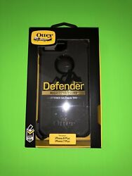 Otterbox Defender Case Holster For iPhone 7 PLUS iPhone 8 PLUS Black New $17.96