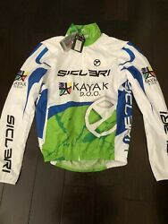 Cycling Windproof team jacket size M $65.00