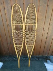 ALASKAN Snowshoes 56quot; Long x 10quot; Wide EXCELLENT Condition $79.99