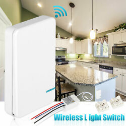 Portable Wireless Light Switch with Receiver Kit for Lamp ON OFF Remote Control $18.48