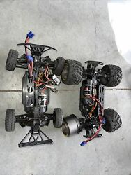 2 ECX AMP Remote Control RC Electric Truck N Car Body Only Untested As Is $190.00