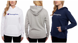 NEW Champion Women#x27;s Logo Jersey Hoodie Pullover Variety #217 $25.19