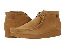 Men#x27;s Shoes Clarks SHACRE BOOT Casual Ankle Lace Ups 59438 DARK SAND $98.00