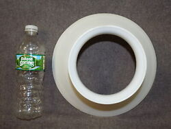 ANTIQUE White Glass Shade For Oil Or Electric Lamp Not A Reproduction $85.00
