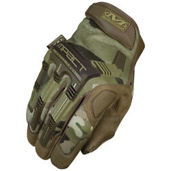 Mechanix Wear Mpact Gloves MPT Covert Black Coyote Multicam Woodland Camo $27.99