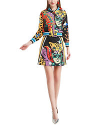 Burryco 2Pc Blouse amp; Skirt Set Women#x27;s 2 $149.99