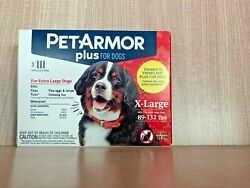 PET ARMOR PLUS for dogs 89 132 lbs. Flea medication 3 Applications $12.99