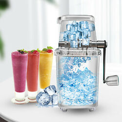 Ice Shaver Snow Cone Machine Ice Crusher Shaved Manual For Commercial amp; HomeSALE