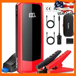 Audew Upgraded Car Jump Starter 2000A Peak 20000mAh Battery Charger Sealed $105.59
