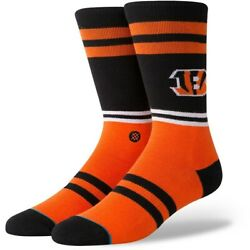 Stance Socks quot;Bengals Logoquot; Cincinnati NFL Large *FREE SHIPPING* New with Tags $11.60