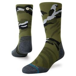 Stance Socks #x27;Polycam Crew#x27; Size M NWT FEEL360 *FREE SHIPPING* MSRP $19.99 $14.99
