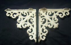 Pair Matching Decorative Metal Corbels 6 x 6 Rustic Style House Decor. $12.50