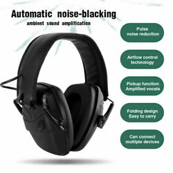 Electronic Noise Cancelling Foldable Headset Protection Ear Muffs For Shooting $18.99