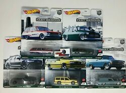 5 Car Set * 2021 Hot Wheels FAST WAGONS Car Culture B Case * IN STOCK $31.99