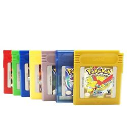 Reproduction Pokemon Gameboy Color Games Works amp; Saves Ships From USA $14.99
