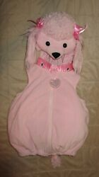 Spooky Night Pink Poodle Costume Size 6 9 Months $19.99