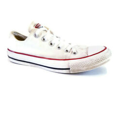 Converse Chuck Taylor All Star Womens Sz 7 White Low Lace Up Casual Sneaker Shoe $24.95