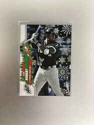 2020 Topps Holiday Luis Robert Rookie card RC #HW2 $4.85