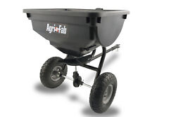 85 lb Broadcast Pull Tow Behind Spreader Tractor Lawn Seed Fertilizer Hopper ATV $226.35